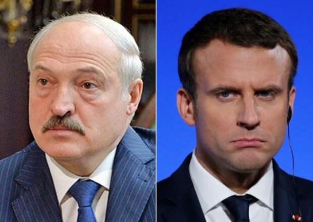 Лукашенко с Макроном обменялись любезностями