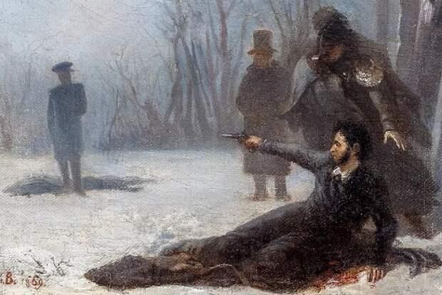 Почему Пушкин проиграл дуэль Дантесу