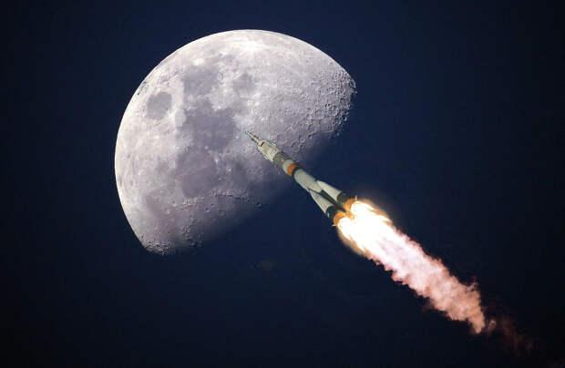 Как Рогозин собрался лететь на Луну