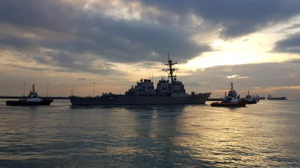 США объяснили заход эсминца в российские территориальные воды