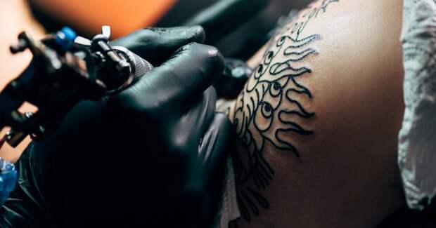 Как татуировки негативно влияют натерморегуляцию кожи