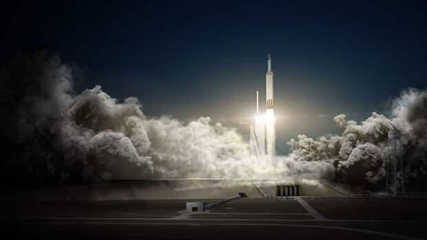 SpaceX запустила ракету-носитель Falcon 9 с 60 микроспутниками Starlink