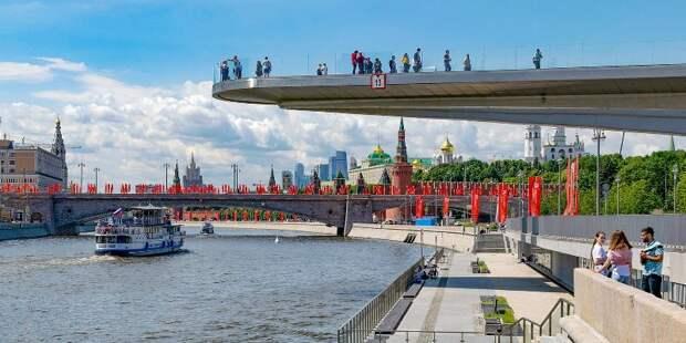 Сезон речных прогулок стартовал в Москве
