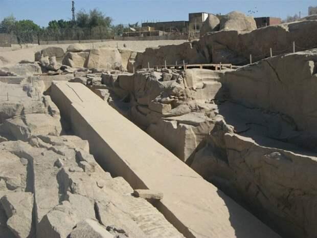 Асуанский обелиск: египетский недострой или след более развитой цивилизации?