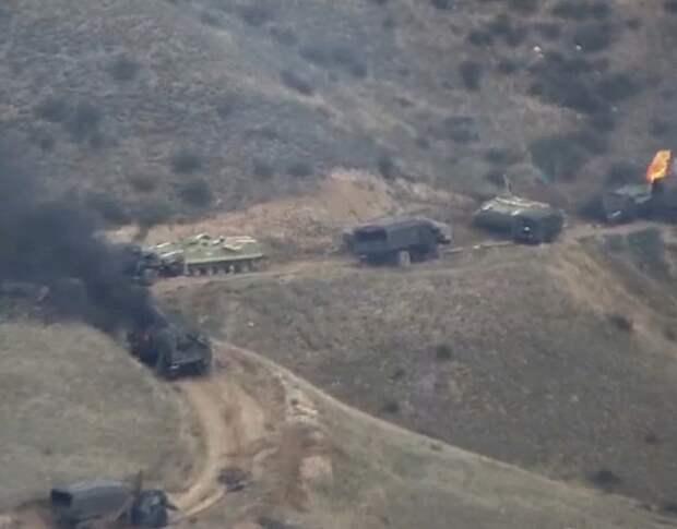 Путин, Макрон и Трамп приняли заявление по ситуации в Нагорном Карабахе