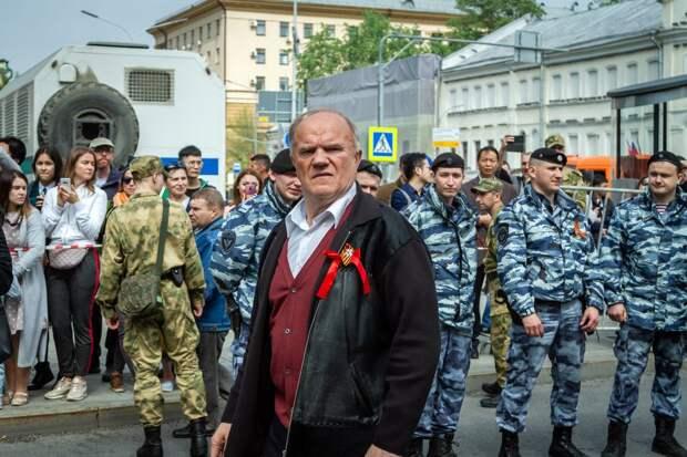 Зюганов публично обратился к Владимиру Путину