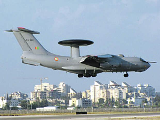 ВВС, ДРЛО иУ, Индия, HAL, HS748, А-50ЭИ, ВТС, Дели, Москва, АВАКС