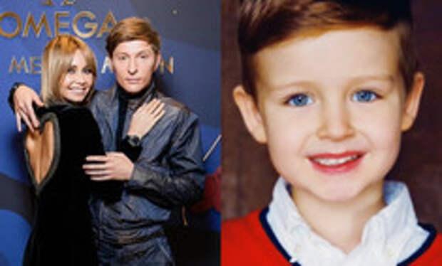 Первое авторизованное фото 8-летнего сына Утяшевой и Воли