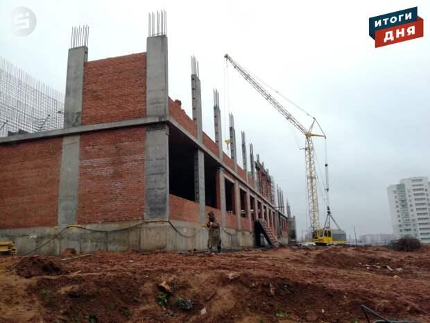 Итоги дня: строительство школы на улице Берша в Ижевске и тестирование записи в первый класс