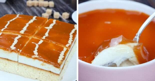 Десерты с карамелью