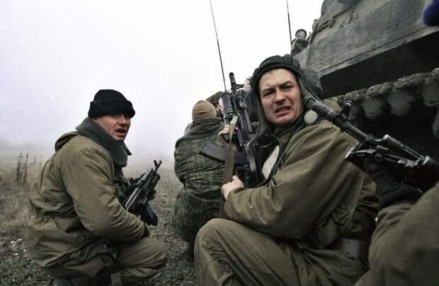 Морские пехотинцы. Чечня, 1999 год.