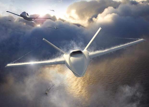 Northrop Grumman показала концепцию беспилотного ведомого