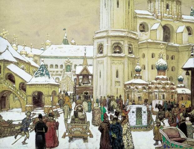 Московский Кремль в картинах Аполлинария Васнецова.