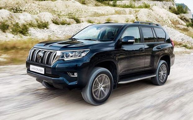 Toyota отзывает Land Cruiser Prado из-за утечки топлива