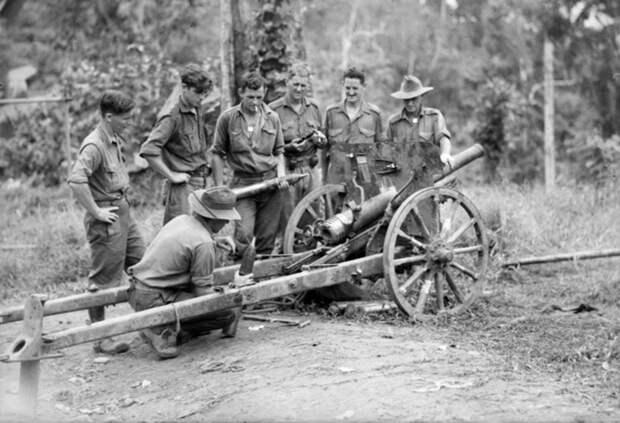 75-мм горная пушка, оставленная японцами при отступлении весной 1944 года awm.gov.au - «Адский остров»: трагедия 18-й японской армии | Военно-исторический портал Warspot.ru