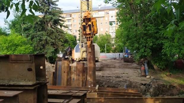 На строительной площадке кинотеатра «Баку» введен семидневный режим работы