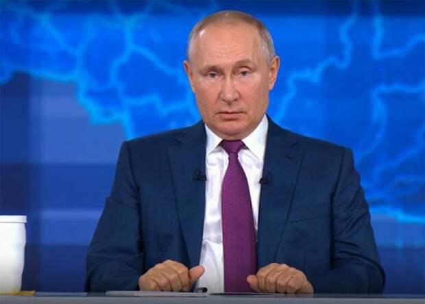 Путин об эсминце Defender: Даже если бы мы потопили этот корабль, мир не оказался бы на пороге мировой войны