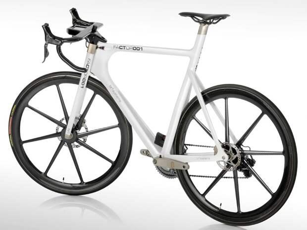 Factor 001 самый прогрессивный гоночный велосипед в мире фото