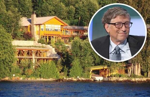 Ежегодно Билл Гейтс за свою недвижимость платит 1 млн дол. в качестве налога (Xanadu 2.0). | Фото: businessman.ru.