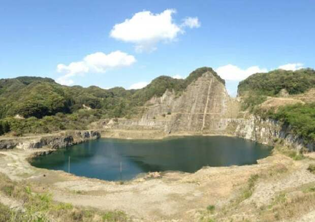 Высокогорный карьер в Японии и неизвестная технология обработки камня