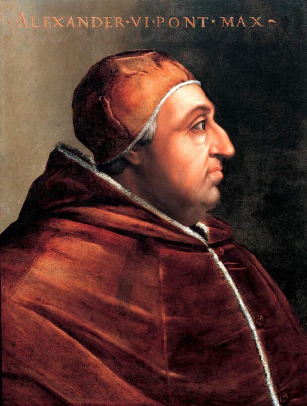 Папа Александр VI стал отцом девяти детей. \ Фото: google.com.ua.