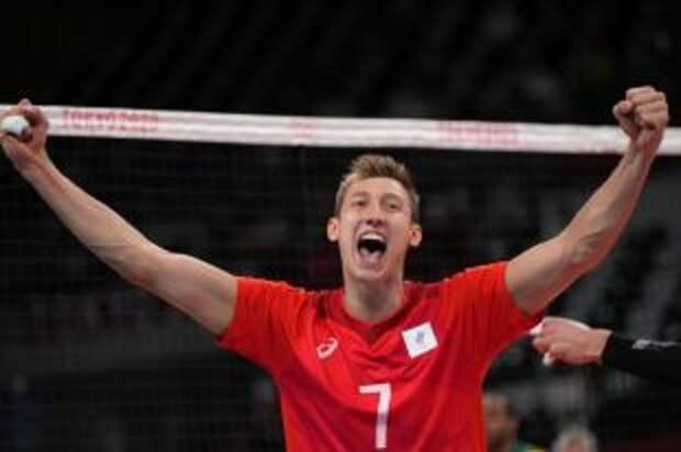 Волейболист Волков поделился эмоциями после выхода в финал Олимпиады