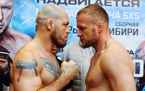 Владелец AMC Fight Nights — о судейских оценках боя Шлеменко — Сантос: «30:27 — это явный перебор»