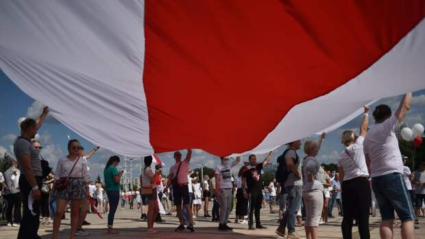 Поддержка белорусских протестов за границей выглядела только так – БЧБ
