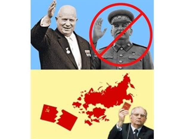 Развал СССР начался с ревизии сталинского наследия