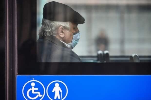В общественный транспорт Подмосковья не будут пускать пассажиров без масок