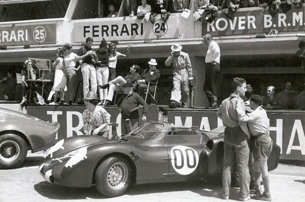 Шасси от BRM из Формулы-1 плюс ГТД от Rover — самый удивительный автомобиль на старте Ле-Мана 1963 года авто, автоспорт, газотурбинный двигатель, гтд, двигатель, мотор, технологии, турбина