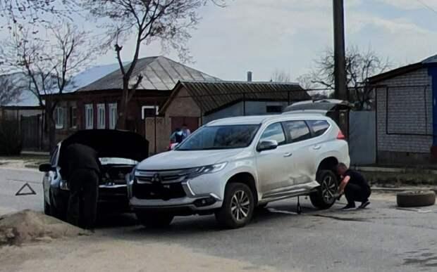 В Спасске произошло ДТП с участием трёх легковых автомобилей