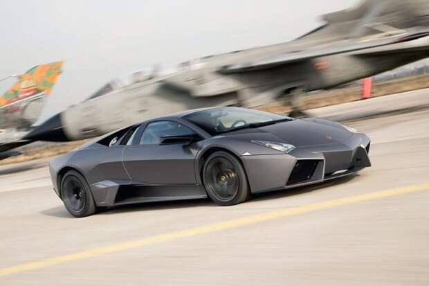 Lamborghini Reventon авто, автодизайн, автомобили, аэродинамика, дизайн, обтекаемость, самолет