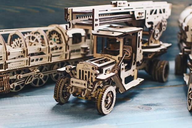 5 причин купить деревянные конструкторы UGEARS