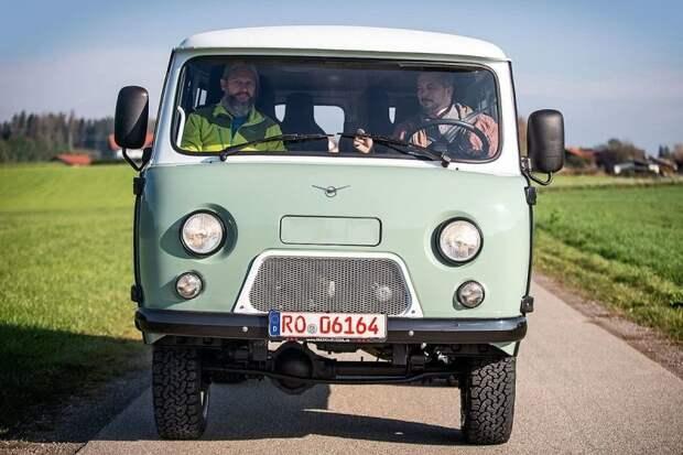 Как немец купил свежую «Буханку». Зачем? Почем? С каким тюнингом? УАЗ-452, авто, автомобили, буханка, германия, тест-драйв, уаз, уаз буханка
