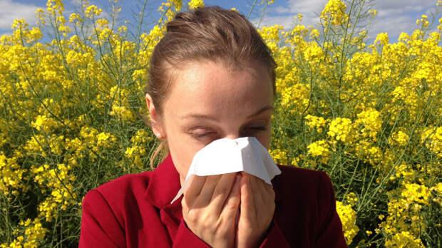 Врач дал советы аллергикам, как защититься от пыльцы в апреле
