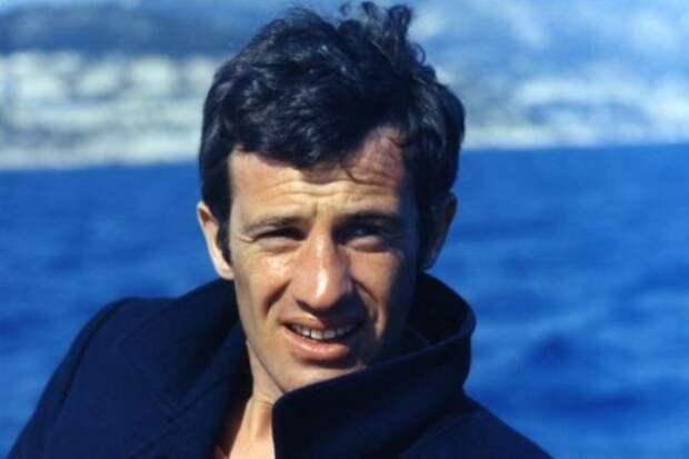 Самым успешный киноактёр Франции Жан-Поль Бельмондо.