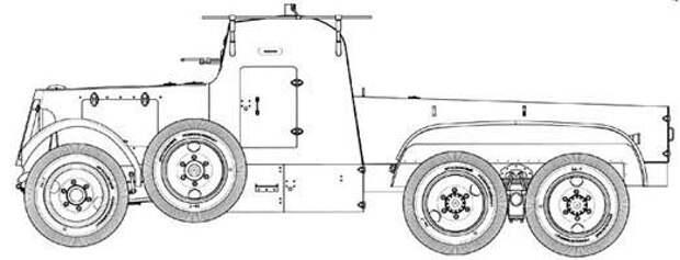 Химический бронеавтомобиль КС-18