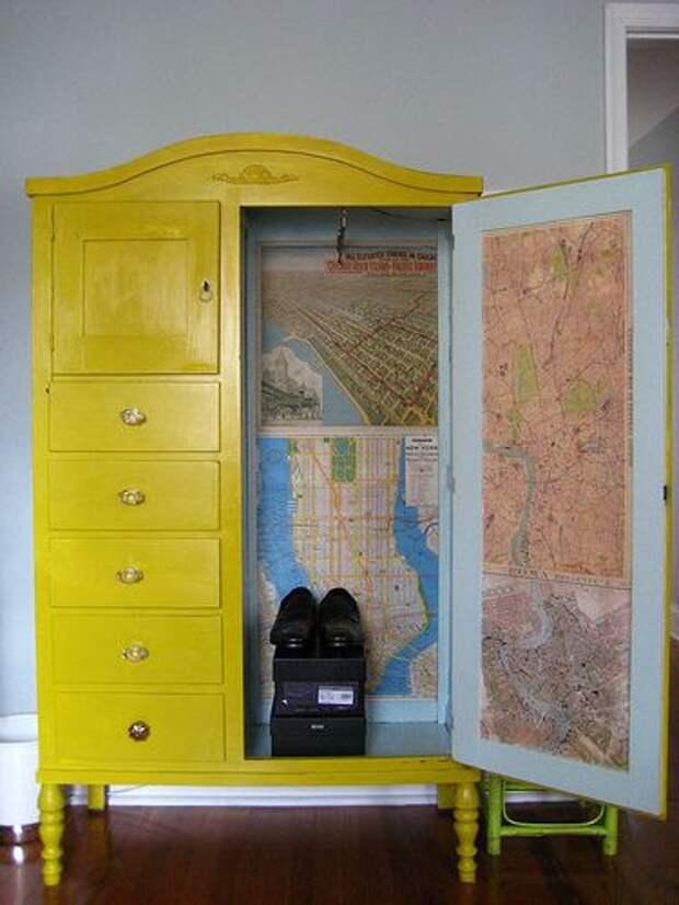 Реставрация мебели внутри