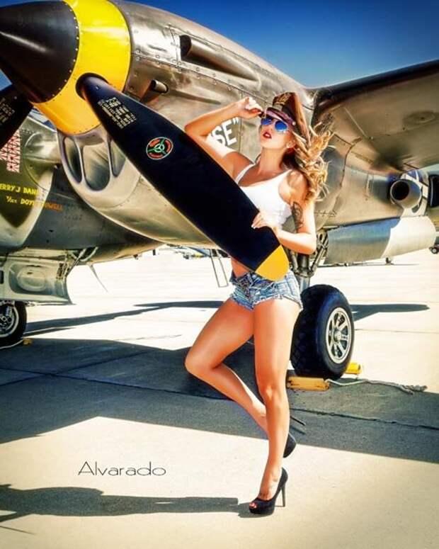Эпатажные красотки от американского фотографа Альварадо