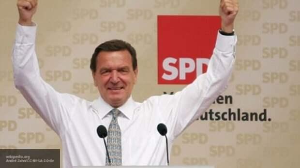 «Это нужно просто признать»: Шредер поблагодарил Россию за объединение Германии