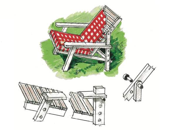 Снова о дачной мебели из паллет: 10 новых идей