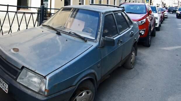 Власти Подмосковья дали советы по избавлению от автохлама во дворе