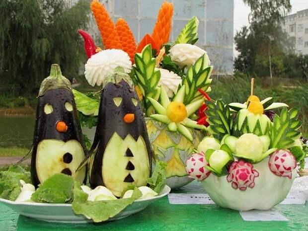 Поделки из овощей. Нет предела человеческой фантазии!