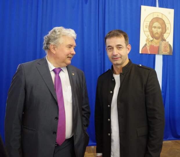 Дмитрий Певцов и Сергей Бабурин заключили соглашение о сотрудничестве