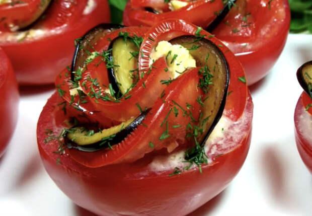 Минутная закуска из помидор: заменили салат вкуснотой