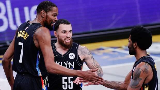 «Бруклин» обновил клубный рекорд по разнице в победном матче плей-офф НБА