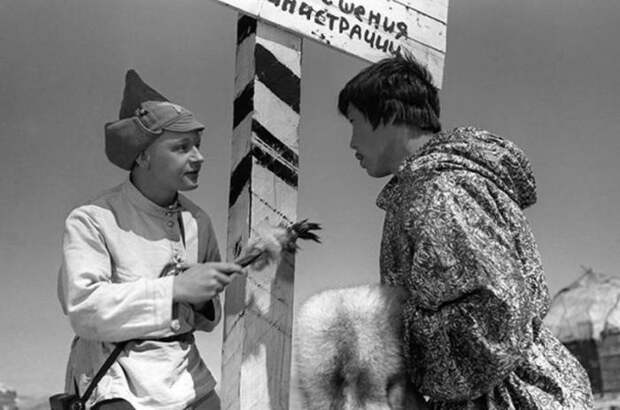Кадр из к/ф «Начальник Чукотки» (1967). | Фото: citifox.ru.