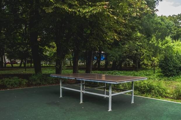В парке «Дубки» для любителей спорта площадки открыты круглогодично