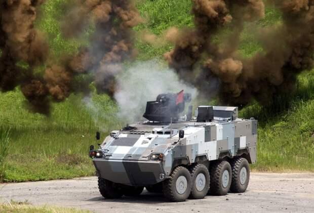 «Дымчатый Леопард». Колёсный БТР Китайской Республики